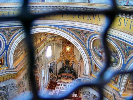 """Altar """"Cathedra Petri"""" / Petersdom / Vatikan"""