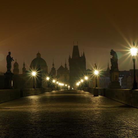 Prag frühmorgens