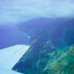 FLUG ÜBER DIE NAPLI KÜSTE AUF DER INSEL KAHULUI - HAWAII