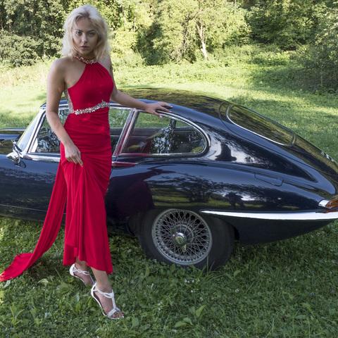 Julia mit Jaguar_003