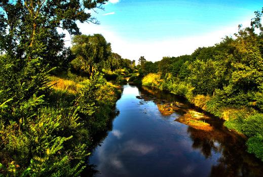 Thaya Fluss bei Laa/Thaya
