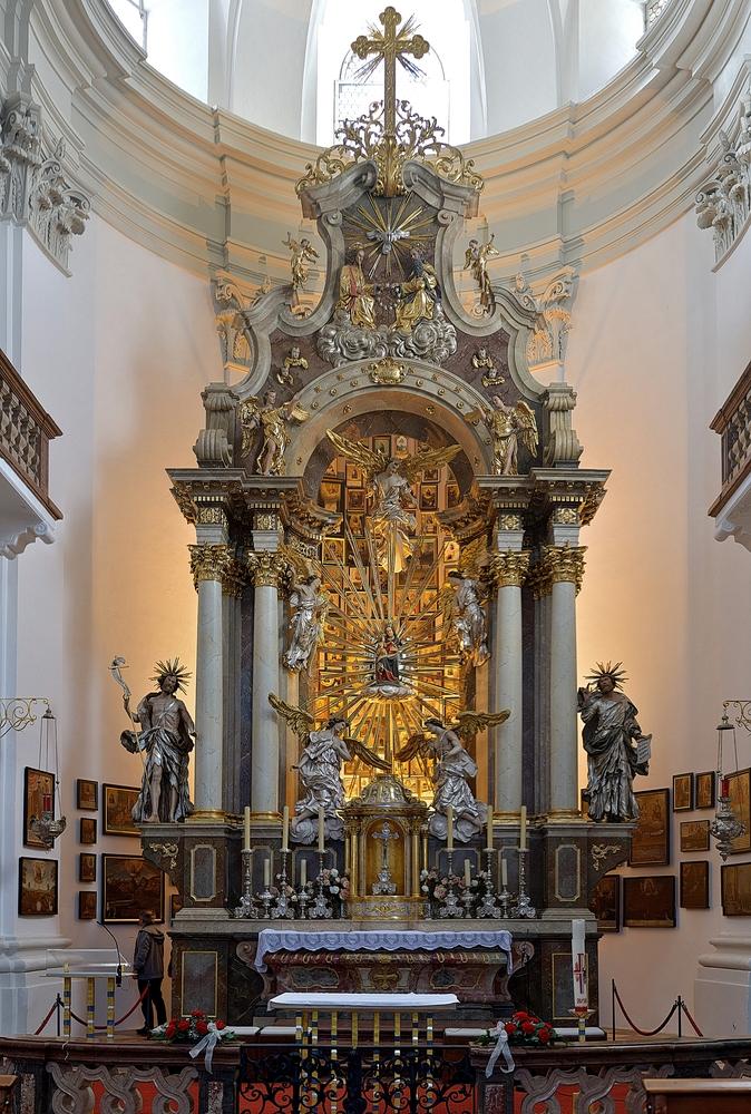 Hochaltar In Maria Kirchental