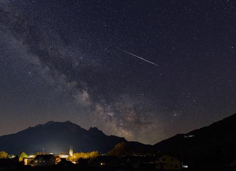 Nacht über Admont