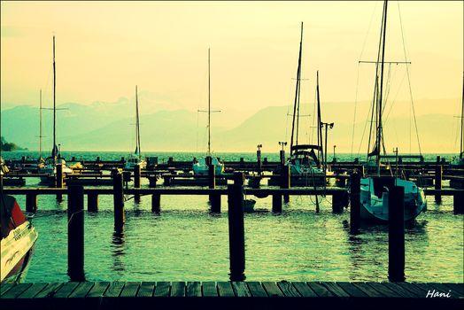 Beim Hafen