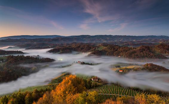 River of mist