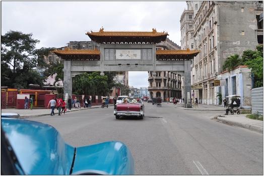 Kuba, La Habana, China Town
