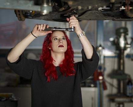 Meine Mechanikerin