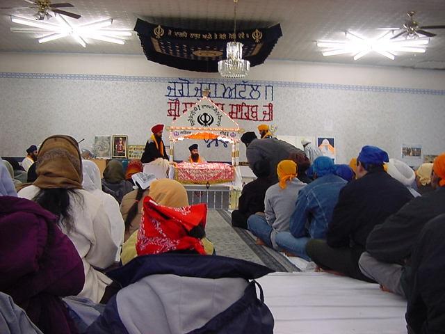 Sikh Gottesdienst