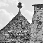 Trullo-Dach in Alberobello / Apulien / Italien
