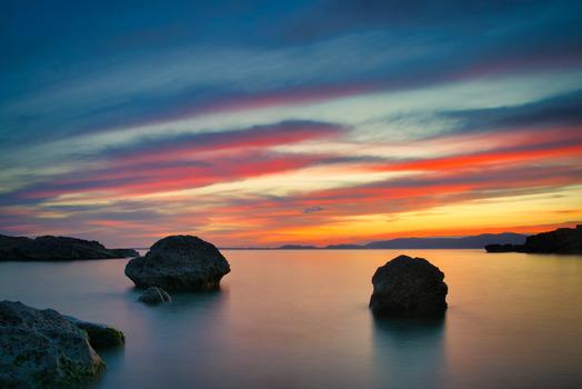 Steine auf Mallorca