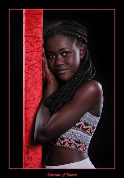 Portrait of Naomi