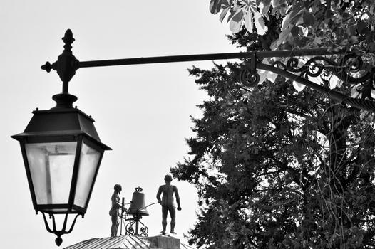 """Die zwei """"Mohren"""" am Uhrturm / Udine"""