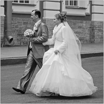 Hochzeit in St. Petersburg