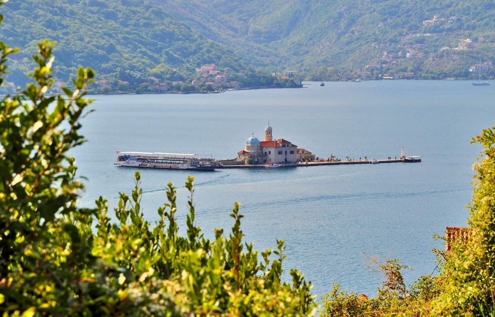 Insel Gospa od Škrpjela / Bucht von Kotor / Montenegro