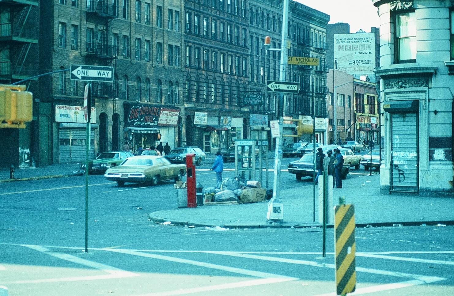 HARLEM - NEW YORK VOR CA. 50 JAHREN
