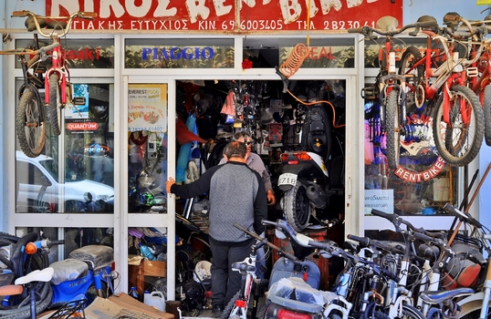 Zweiradwerkstätte-Paleochora / Kreta