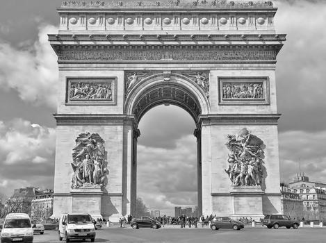 Arc de Triomphe - Paris (2)
