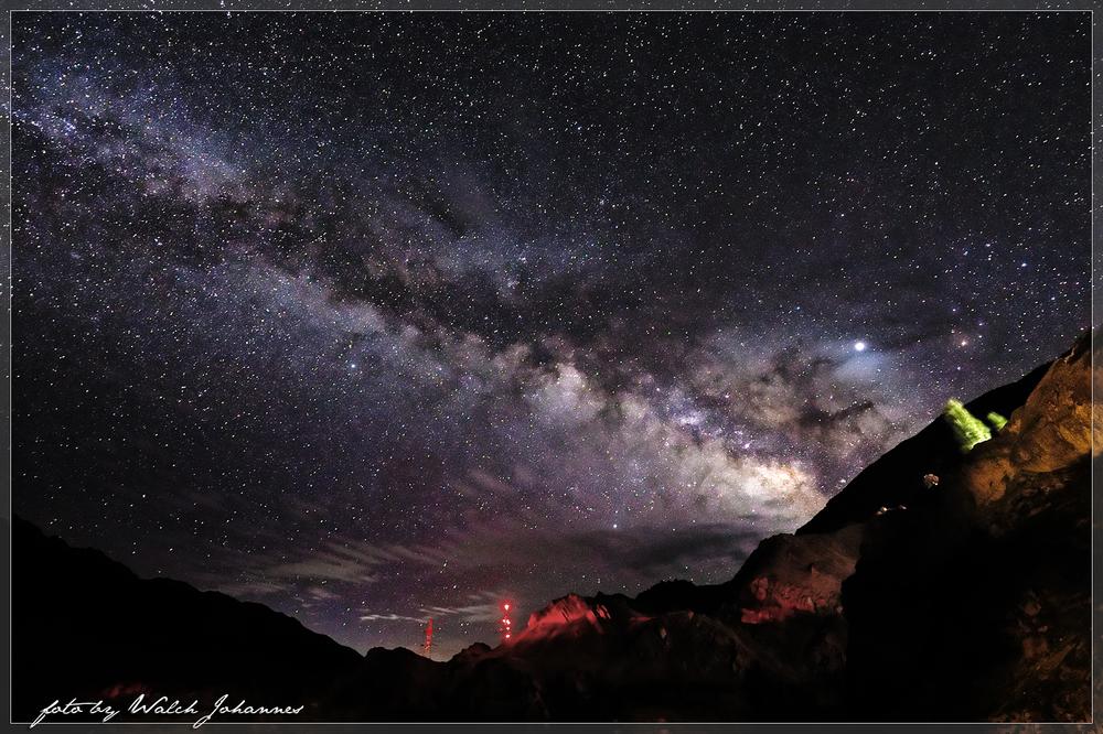 Sterne im Industal