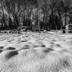 Winter im Schrebergarten