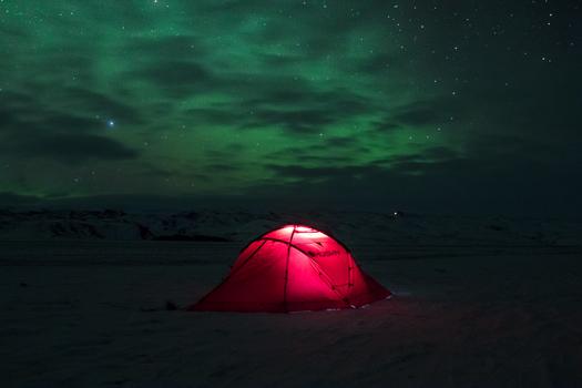 Ich vermisse die grünen Nächte von Island