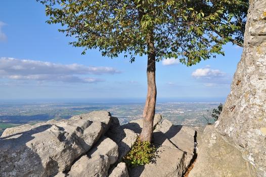 San Marino - Richtung Rimini...
