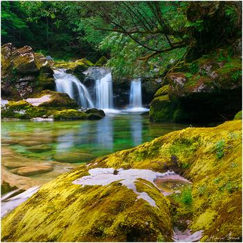 Kleine Wasserfälle Analog 6x6