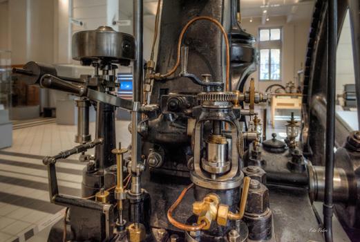 Erster österreichischer Dieselmotor