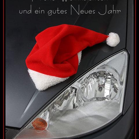 """Weihnachtskarte """"Mobil"""""""