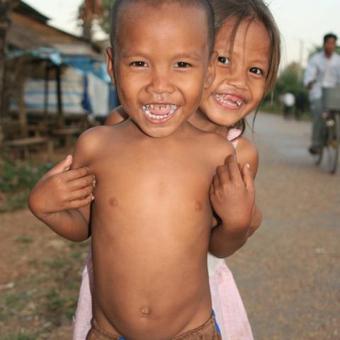 Kinder Kambodschas 3