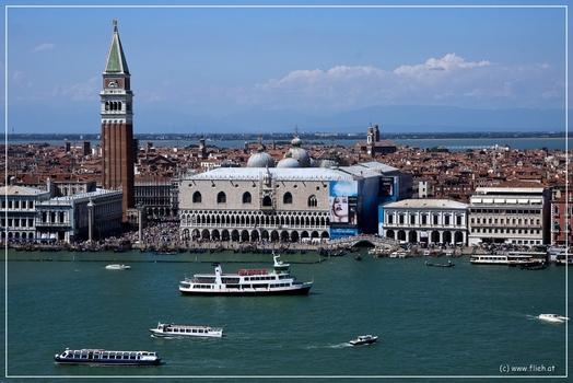 Venedig von San Giorgio Maggiore