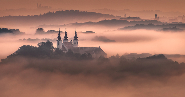 Somewhere in fog
