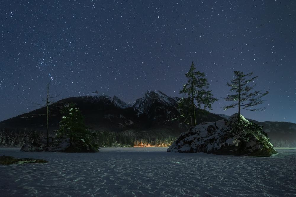 nachts am Hintersee