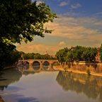 Nachmittags am Tiber