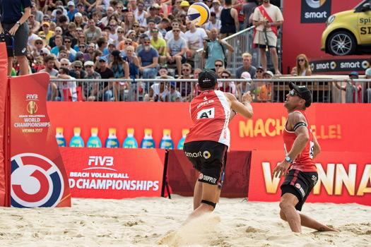 Beach-Volleyball- WM 2017 in Vienna