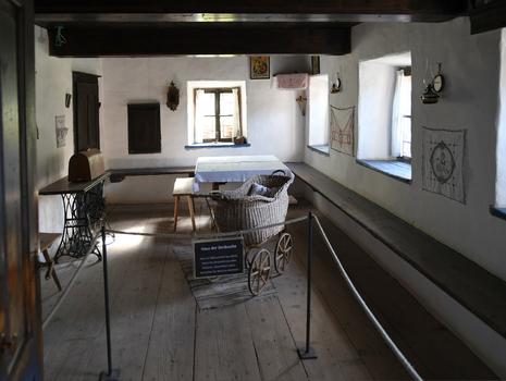 Stube, Sillbauernhaus (Freilichtmuseum Großgmain)