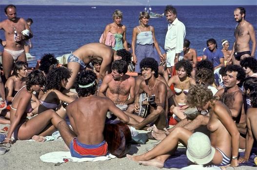 auf Kreta in den Siebzigerjahren