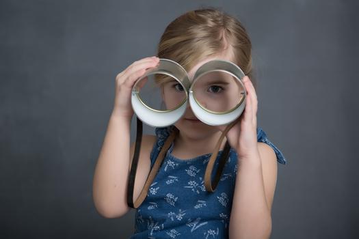 kinderportrait im Kindergarten