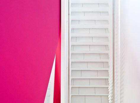 Pink - weiß