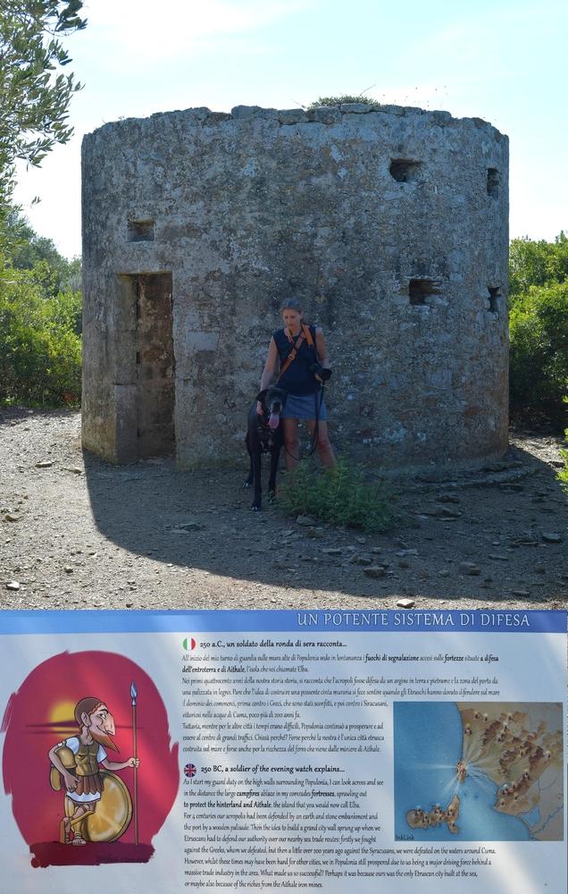 Etruskischer Signalturm (Populonia)
