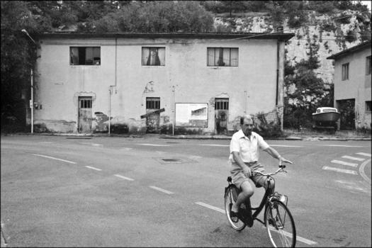 Il ciclista ...