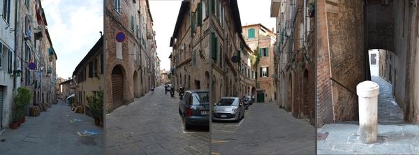 Gassen von Siena (1)
