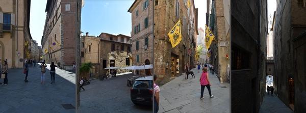 Gassen von Siena (2)