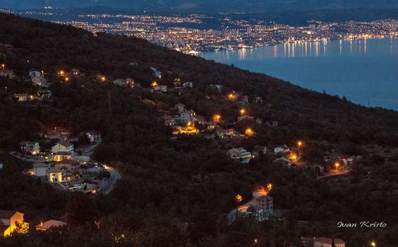 Rijeka(gessen von Berg Ucka)-Kroatien