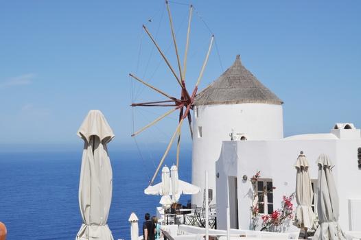 Windmühle Oia - Santorini