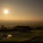 Sonnenuntergang Kollmitzberg