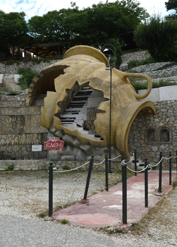 Taverneneingang Nähe Perachora