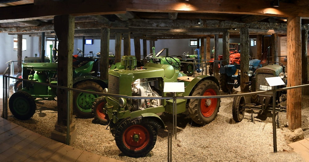 Oldtimer-Traktoren, Krallerhof (Freilichtmuseum Großgmain)