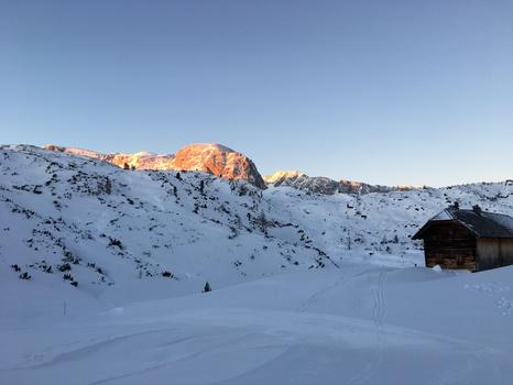 Berge im Morgenrot