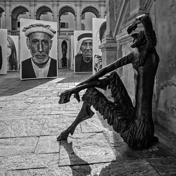 Razza Umana by Oliviero Toscani im Grazer Landhaushof