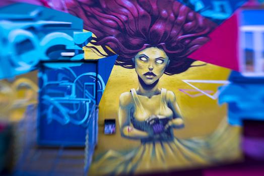 Graffiti in Bregenz